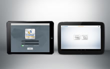 Presentation of Kleemann Visual Support for tablet