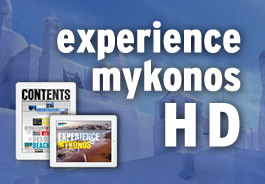 experience mykonos HD app development for iPad